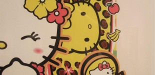Tahiti_Kitty_sean_danconia_fine_art_Hello_kitty_3