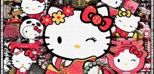 hello kitty art_the world of kitty wong Sean D'Anconia