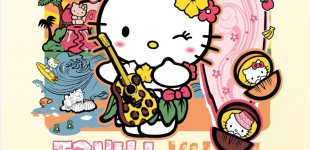 Hello Kitty -Tahiti Kitty v2