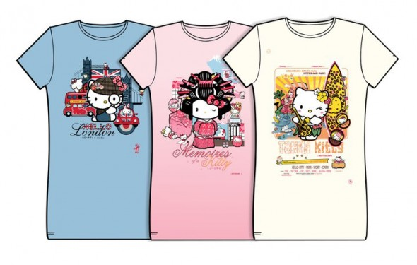 Hello kitty t shirts by d anconia danconia creative for Hello kitty t shirt design