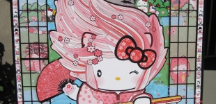 Hello Kitty Art - Reflections of a Kitty - Danconia (8)