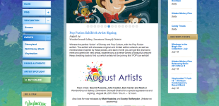 Disney Pop Fusion Art Show