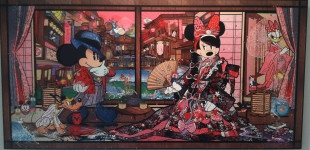 Minnie's Green Tea Cafe - Mickey Mouse Disney Sean D'Anconia Art (1)